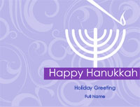 Hanukkah2 Greeting Card (4x55)